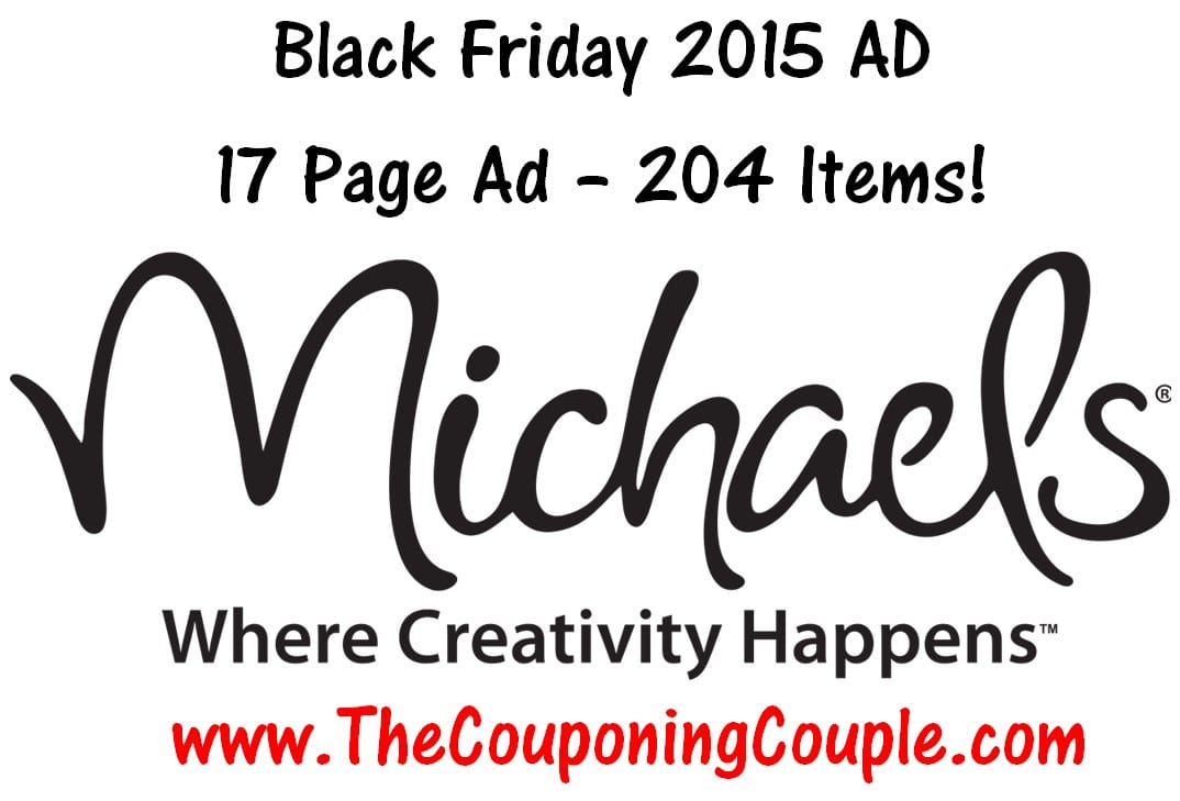 Michael 39 s black friday 2015 ad 17 pages 204 items for Weekly ad for michaels craft store