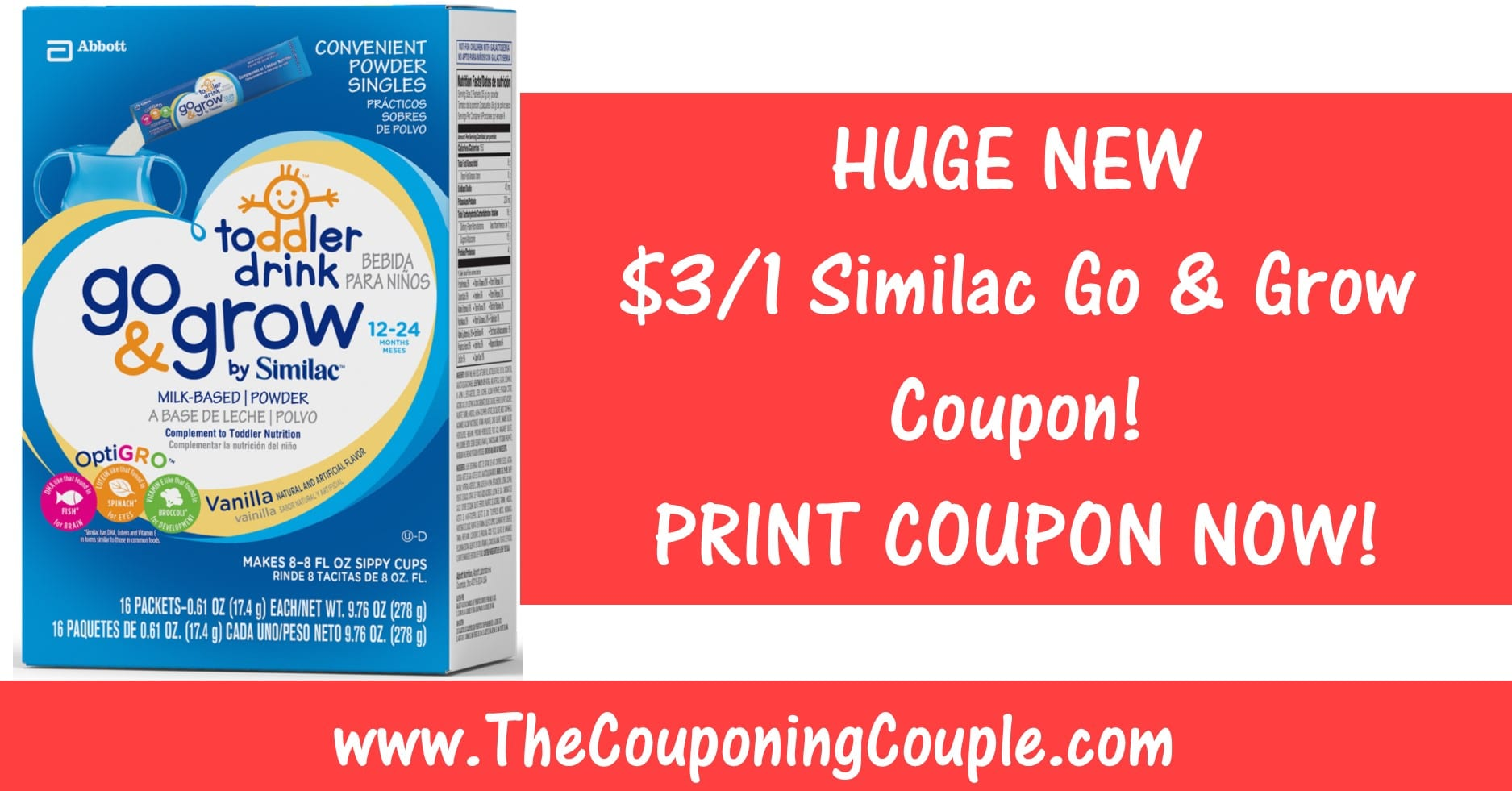 graphic regarding Similac Printable Coupons known as Similac transfer and mature discount coupons canada / Pacific whale