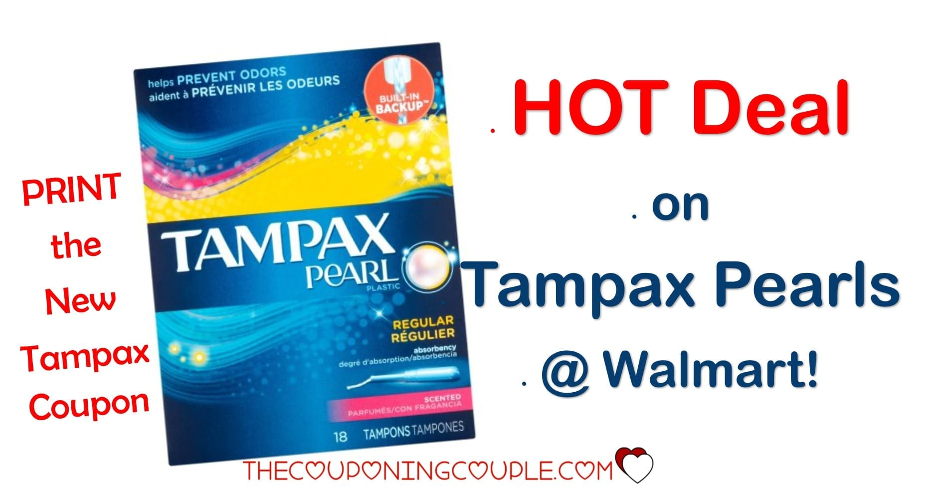 tampax coupon matchups