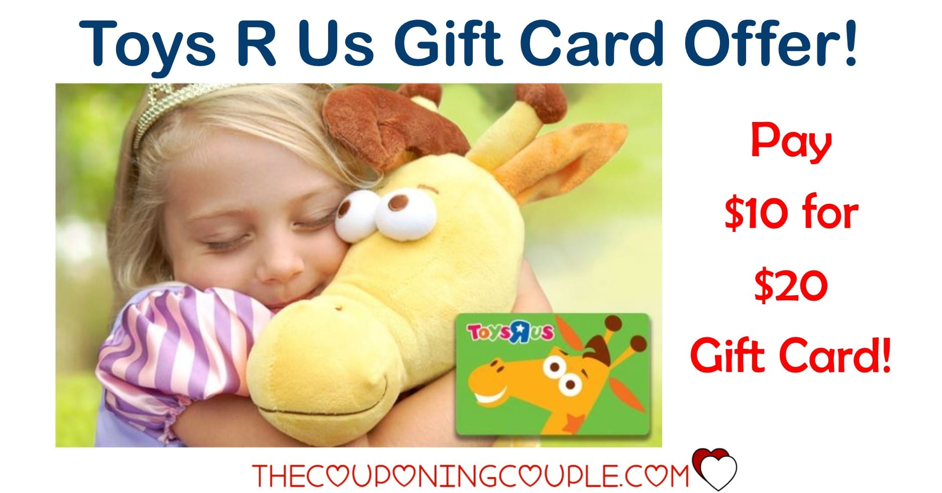 Toys R Us Gift Card : Toys r us gift card for only check it out