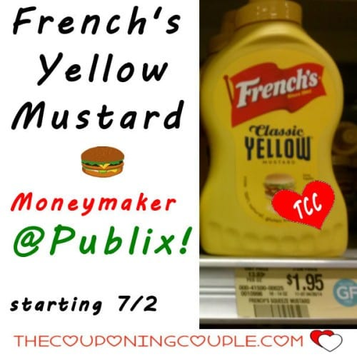 French's Mustard Moneymaker at Publix