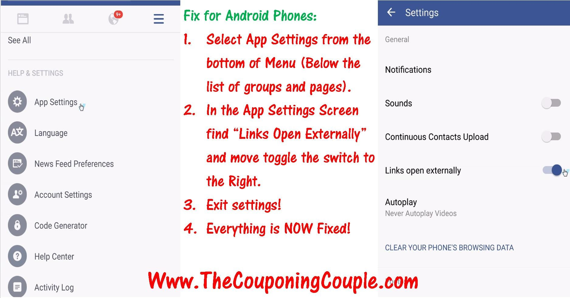 How to Fix Mobile Coupon Printing Problems on your Android Device