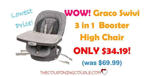 graco swivi 3 in 1 booster high chair