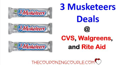 Hot Deals on 3 Musketeers