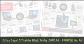 Office Depot OfficeMax Black Friday 2019 Ad Posted!