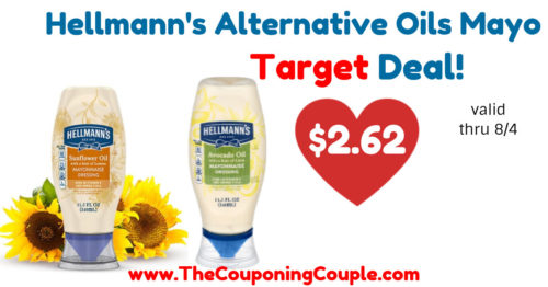 Quick Deal on Hellmann's Avocado or Sunflower Oil Mayo