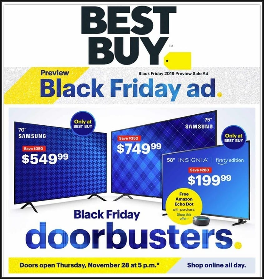 Best Buy Black Friday Ad 2019