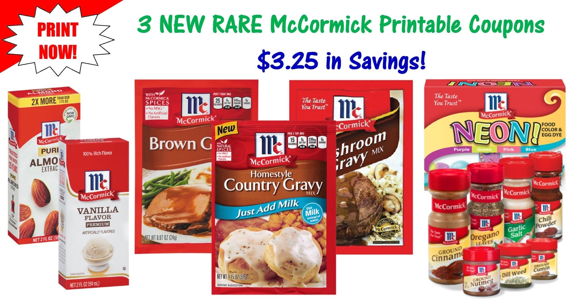 image about Chili Printable Coupons titled 3 Refreshing McCormick Printable Coupon codes ~ $3.25 inside of Personal savings!