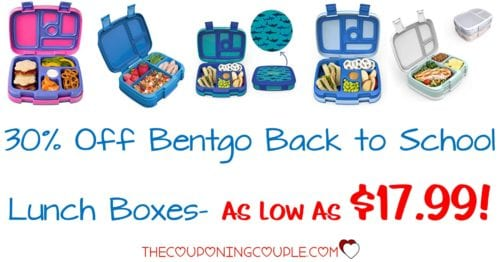 Bentgo Back to School Lunch Boxes