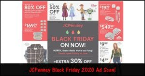 JCPenney Black Friday 2020 Ad: BROWSE All 24 Pages of the Ad!