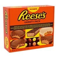REESE'S Chocolate Peanut Butter Variety Pack, 30 Count - $18.75!