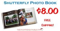 Shutterfly Photo Book Sale! Get a 8x8 Photo Book for $8! FREE Shipping!