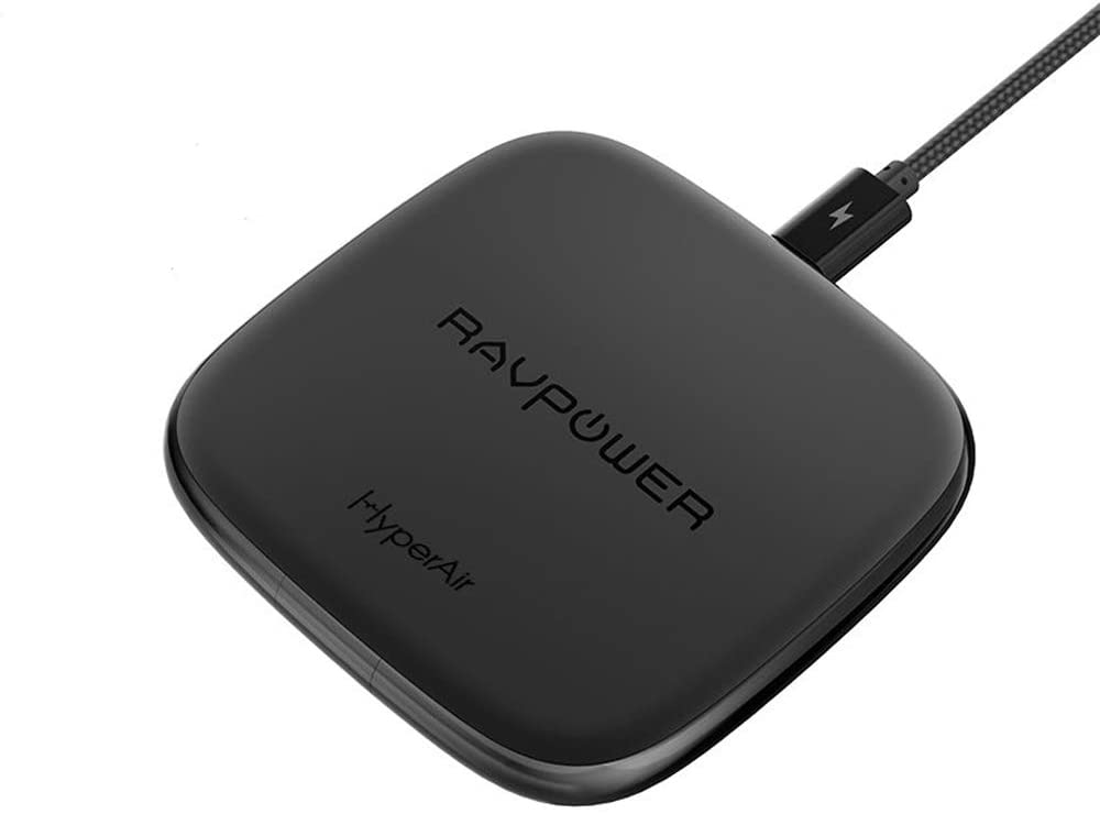 RAVPower Qi Certified Ultra-Safe Wireless Charger Pad