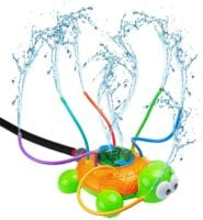 Backyard Spinning Turtle Sprinkler Toy - ONLY $5.16 with Coupon Code!