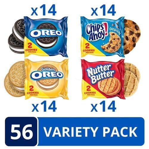 Oreo - Chips Ahoy - Nutter Butter Variety Pack