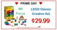 AWESOME PRICE! Lego Classic Creative Box (900 Pcs) for ONLY $29.99!