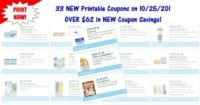 33 NEW Printable Coupons