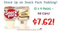 Snack Pack Pudding Cups - 48 Count for Only $7.62!