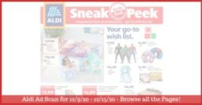 Aldi Weekly Ad (12/9/20 - 12/12/20): Early Aldi Ad Preview Sneak Peek