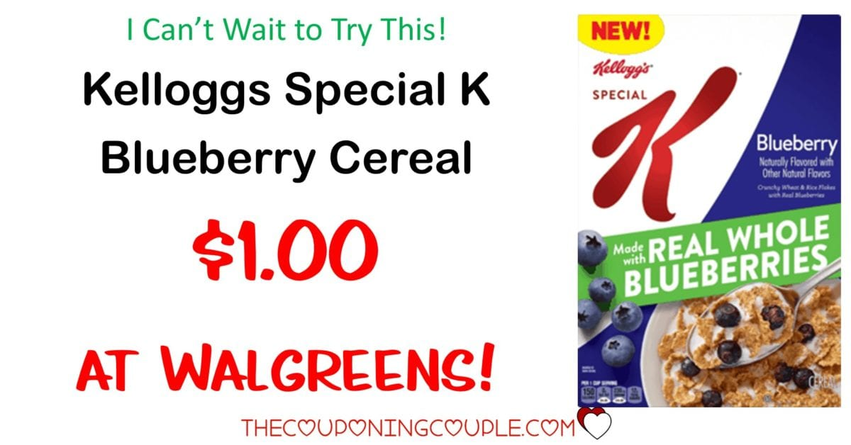 Special K Blueberry Cereal