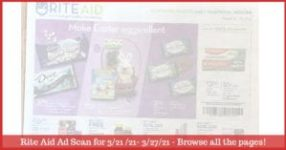 Rite Aid Weekly Ad (3/21/21 - 3/27/21): Early Rite Aid Ad Preview