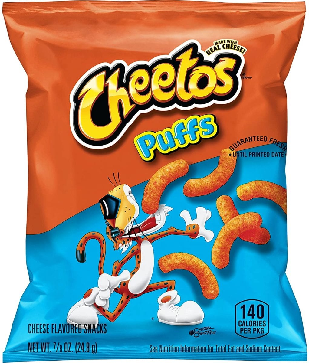Cheetos Puffs Snack Bags