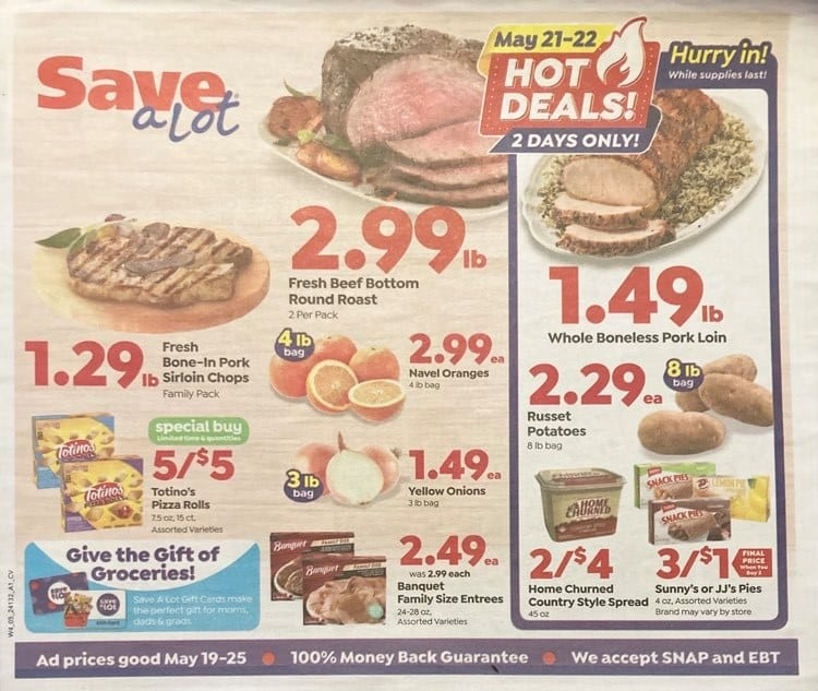 Save A Lot Weekly Ad 5/19/21 - 5/25/21