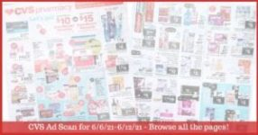 CVS Ad Preview (6/6/21 - 6/12/21): Early CVS Weekly Ad Preview