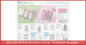 Rite Aid Weekly Ad (6/6/21 - 6/12/21): Early Rite Aid Ad Preview