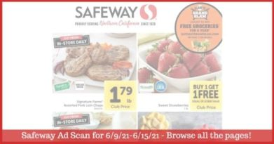 Safeway Weekly Ad (6/9/21 - 6/15/21): Safeway Ad Preview