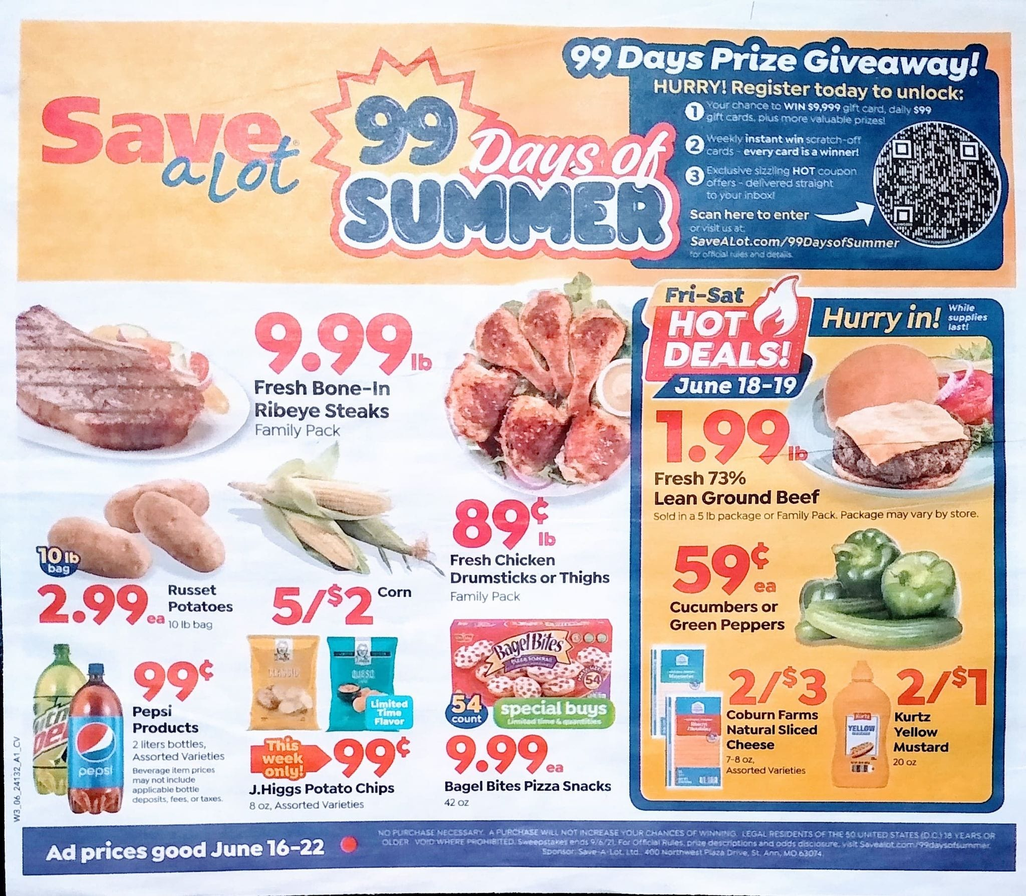 Save A Lot Weekly Ad 6/16/21 - 6/22/21