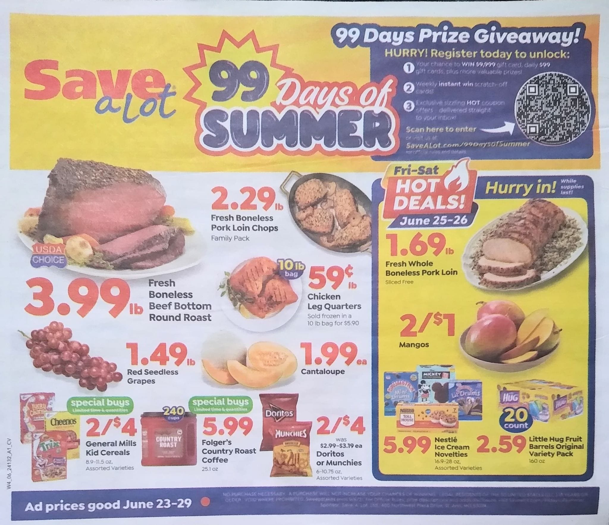 Save A Lot Weekly Ad 6/23/21 - 6/29/21