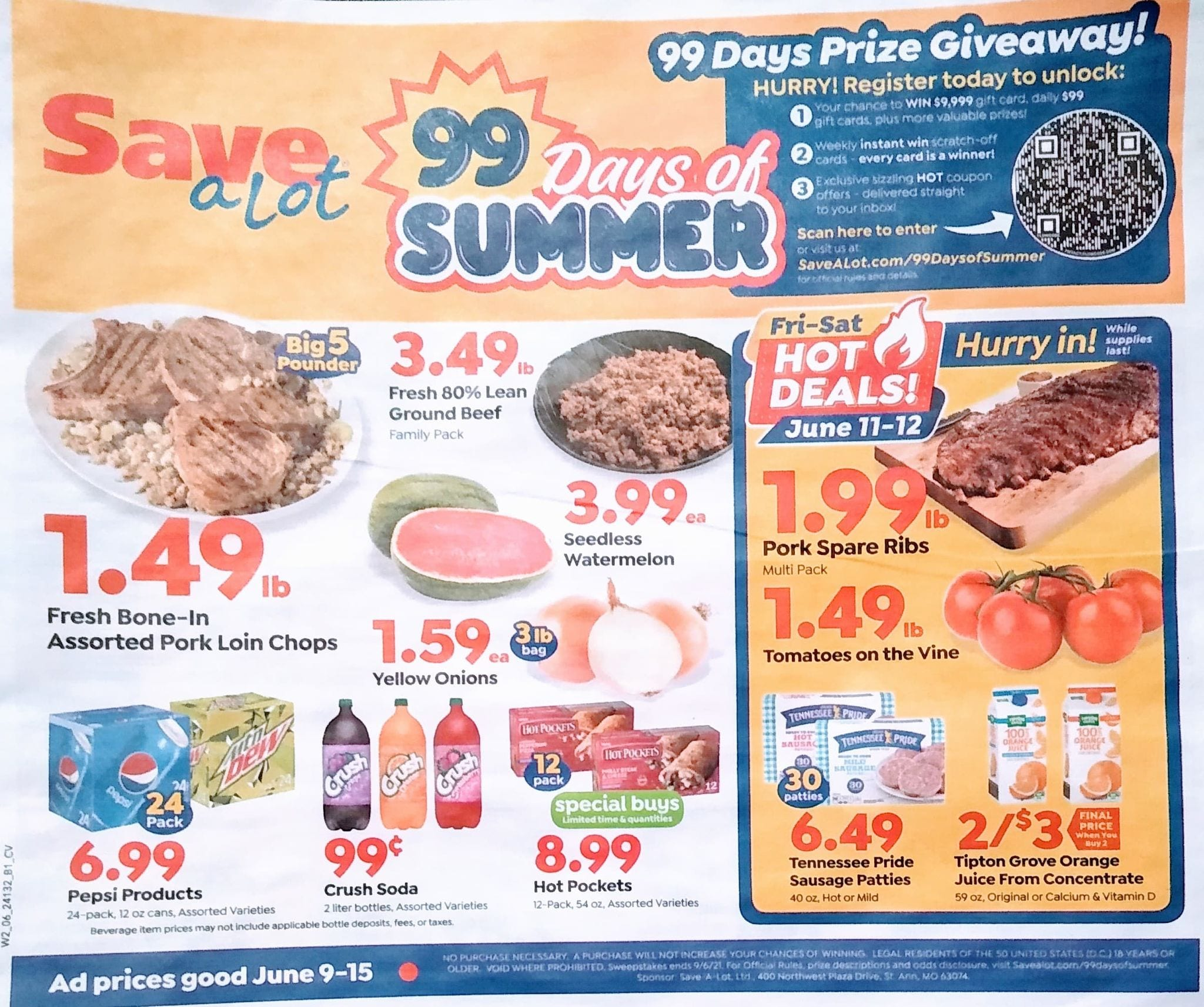 Save A Lot Weekly Ad 6/9/21 - 6/15/21