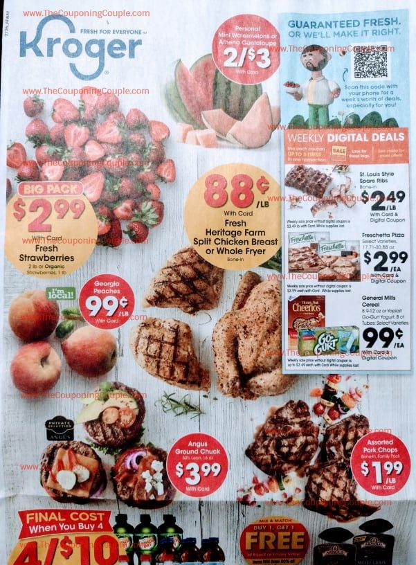 Kroger Ad Preview (7/28/21 – 8/3/21)