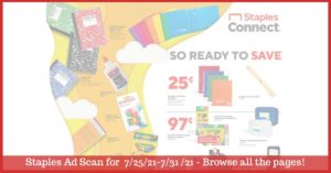Staples Weekly Ad 7/25/21 - 7/31/21 ~ Staples Ad Preview!