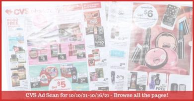 CVS Ad Preview (10/10/21 - 10/16/21): Early CVS Weekly Ad Preview