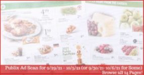 Publix Ad Preview 9/29/21 - 10/5/21 (9/30 - 10/6/21 for Some)