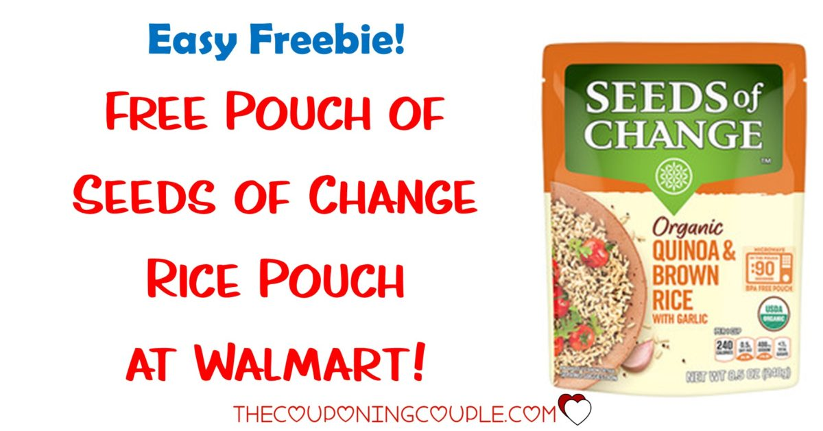 Seeds of Change Rice Pouch