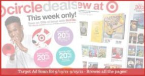 Target Ad Preview (9/19/21 - 9/25/21): Target Weekly Ad Preview