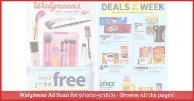 Walgreens Ad (9/12/21 - 9/18/21): EARLY Walgreens Ad Preview