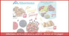 Albertsons Weekly Ad (10/20/21 - 10/26/21) & Albertsons Ad Preview