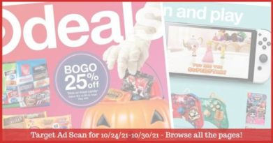 Target Ad Preview (10/24/21 - 10/30/21): Target Weekly Ad Preview