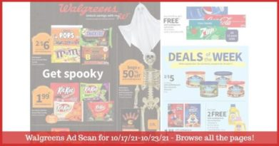 Walgreens Ad (10/17/21 - 10/23/21): EARLY Walgreens Ad Preview